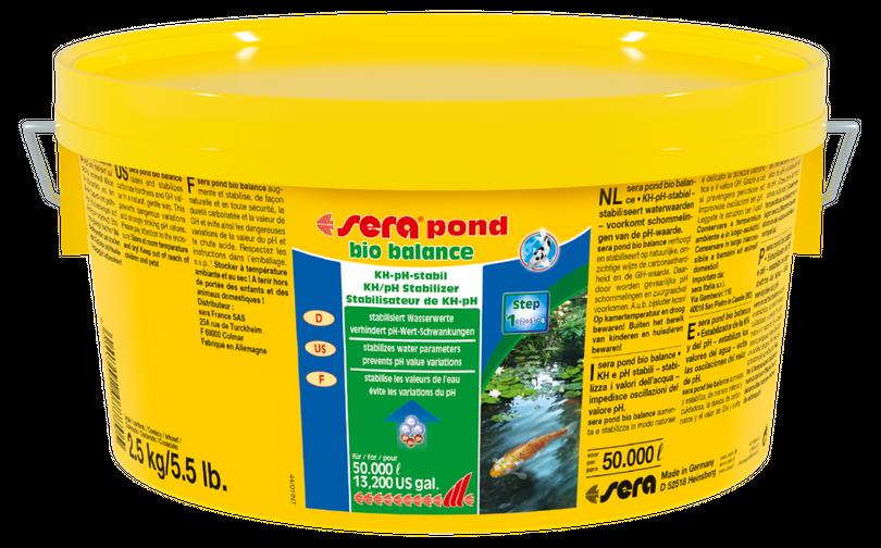 sera pond bio balance 2,5 Liter Gartenteich Wasseraufbereitung Algen