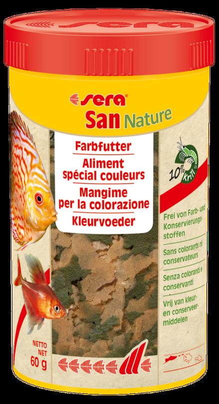 sera San Nature 250ml Flockenfutter