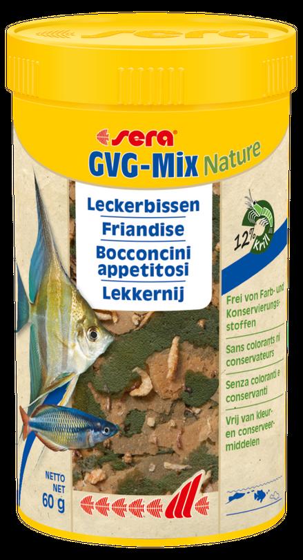 sera GVG-Mix Nature 250ml Leckerbissen