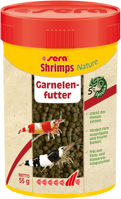 sera Shrimps Natural 100ml Garnelen Hauptfutter