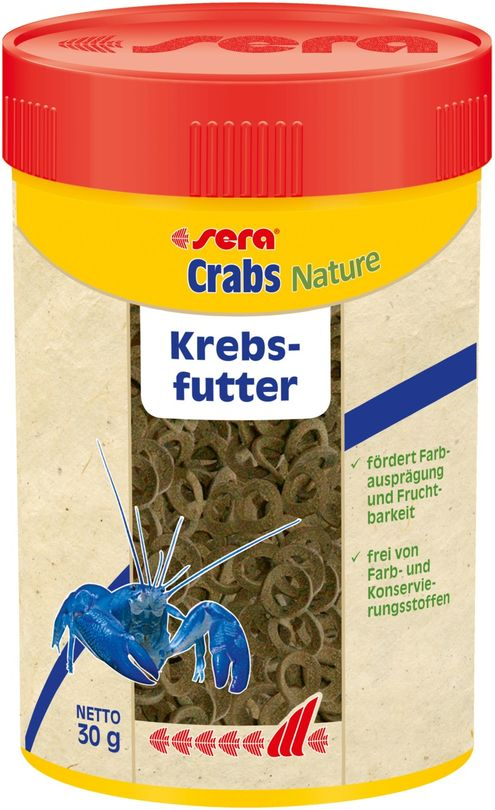 sera Crabs Natural 100ml Krebs Hauptfutter