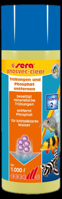 sera phosvec clear 250 ml Trübung Wasserwerte