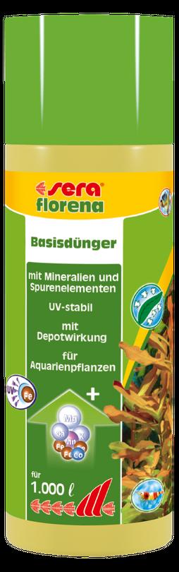 Sera florena 250 ml Süßwasser Pflanzendünger Basisdünger
