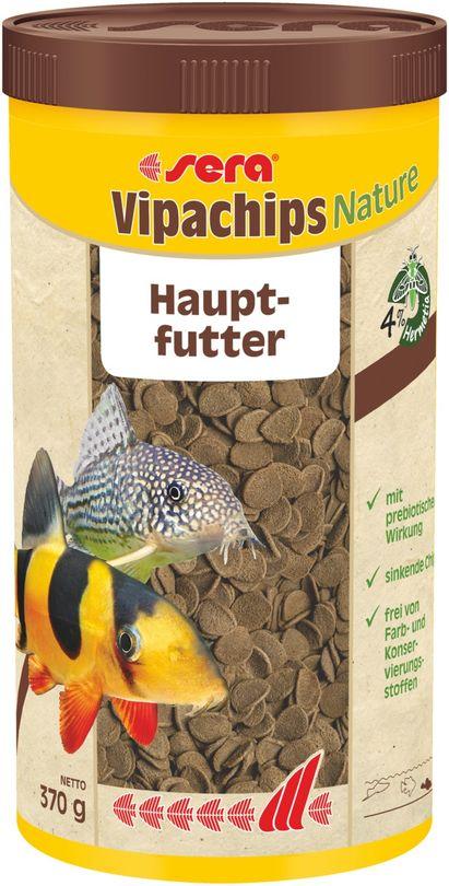 sera Vipachips Nature 1000 ml Hauptfutter