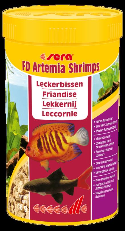 sera FD Artemia Shrimps 250 ml Leckerbissen