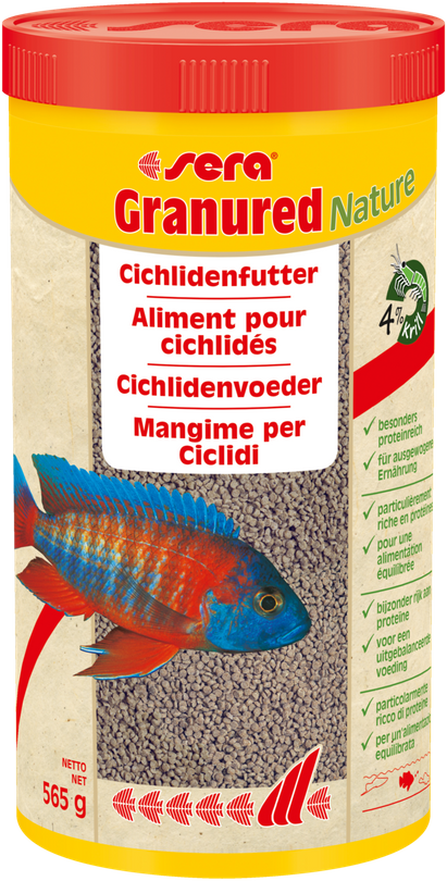 sera Granured 1000ml Granulat Cichliden Aquarium