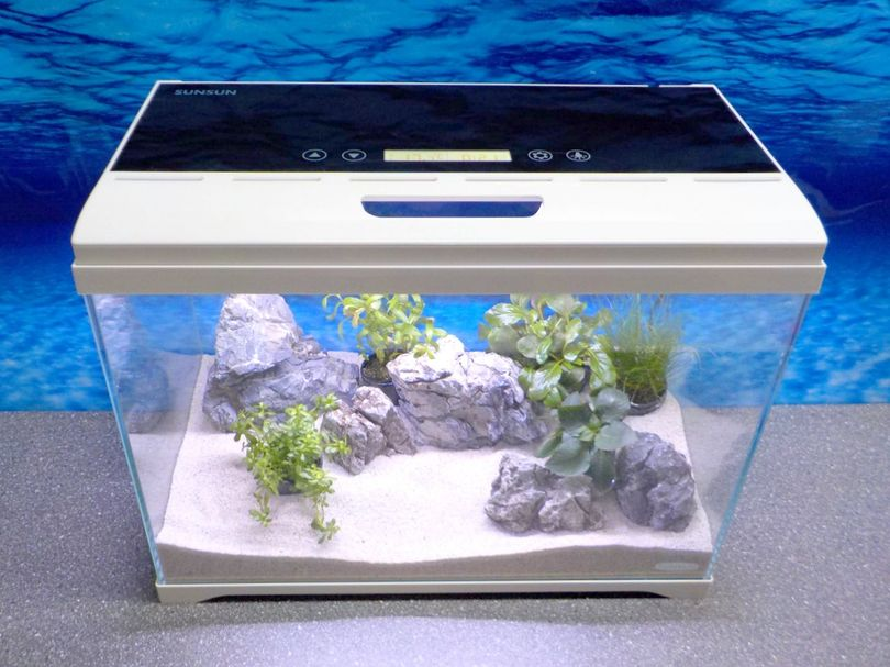 Aquaristikwelt24 AT-500 A Nano Aquarium Touch Display Filteranlage Beleuchtung