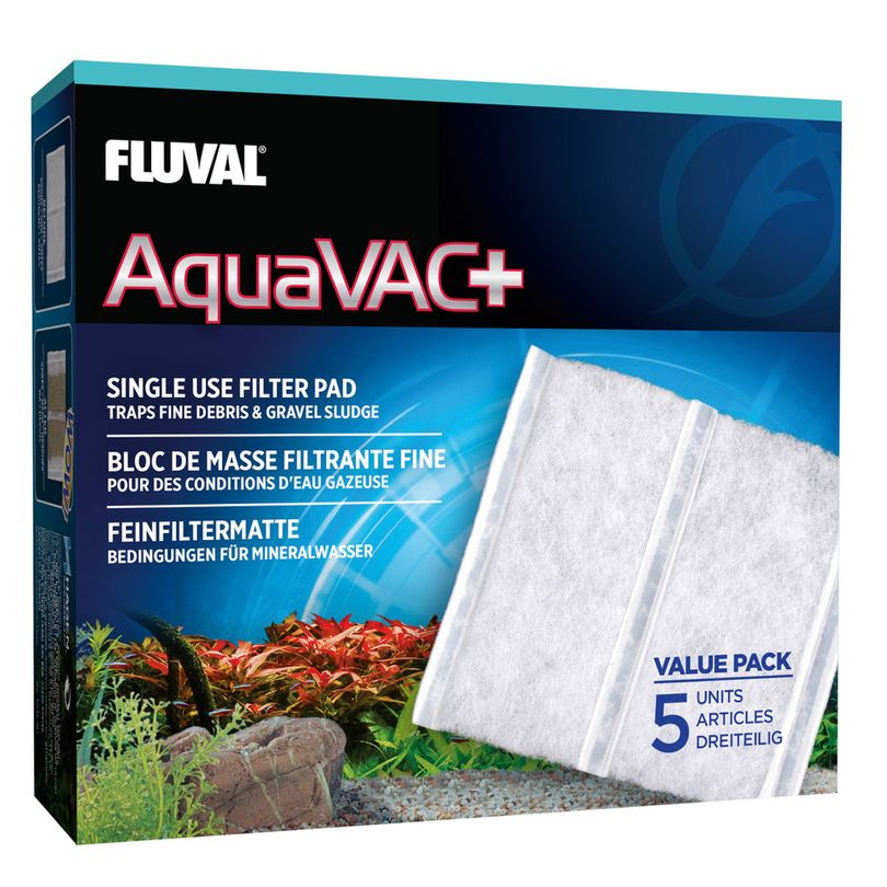 Feinfilter Fluval AquaVac+  - elektr. Mulmglocke Bodengrund Reiniger