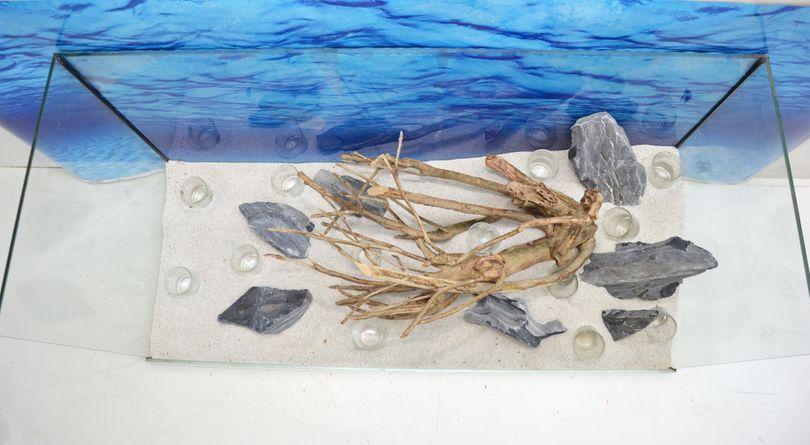 Aquarium Deko Komplettset- Talawawurzel Steine Wasserpflanzen Aquascaping Nr.212 Bild 8