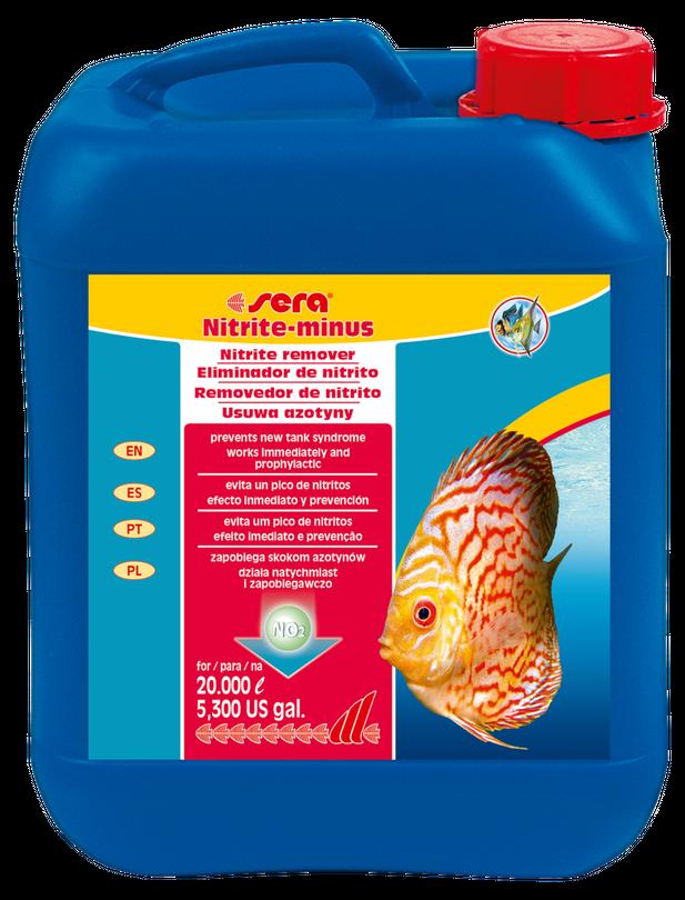 sera Nitrit minus 5000 ml Süßwasser Wasserwerte