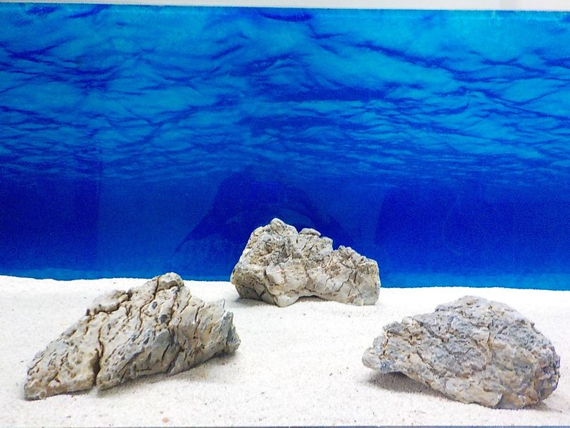 "Aquarium graue Dekosteine Seiryu Art.68 ""original Foto"" Größe L 12-35cm Nr.8573"