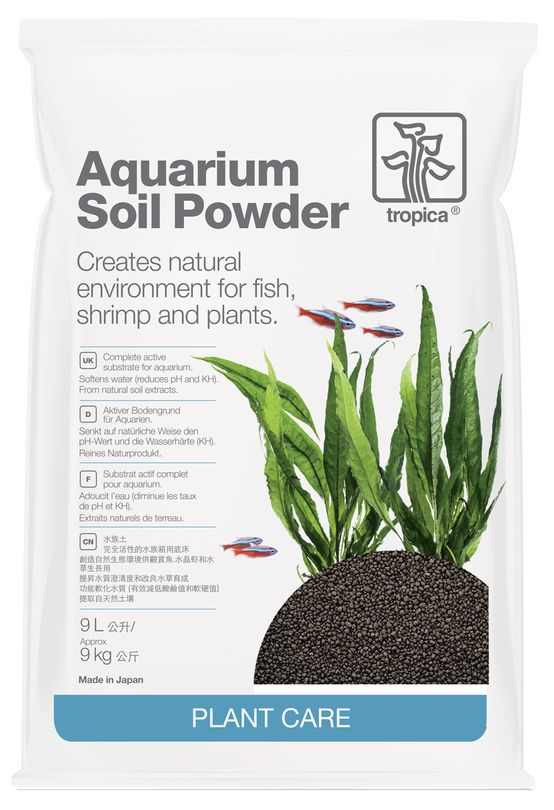 Tropica Aquarium Soil Powder 9L kompletter Bodengrund 1-2 mm