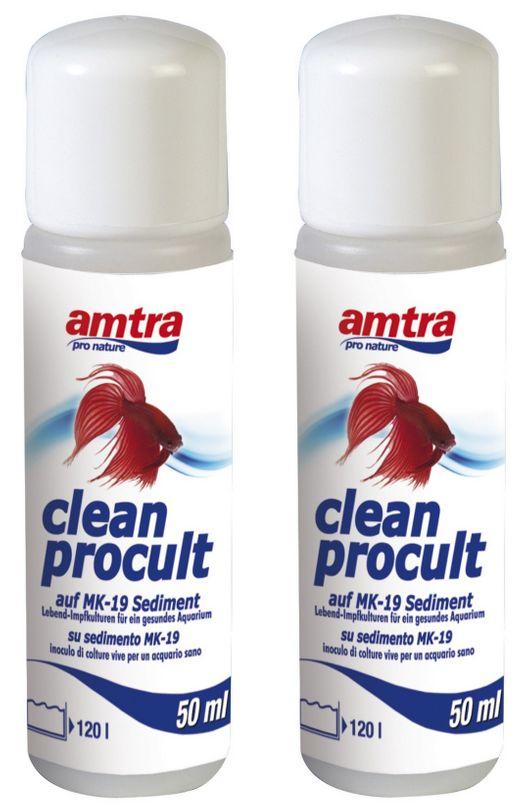 Amtra Clean Procult 2 Stück Lebend-Impfkulturen 2x50ml