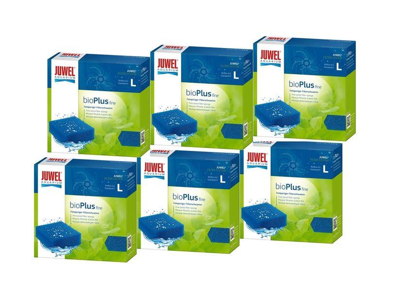 Juwel bioPlus fine L 6er Pack Filterschwamm fein biologische Filterung