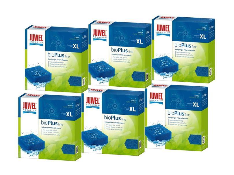 Juwel bioPlus fine XL 6er Pack Filterschwamm fein biologische Filterung