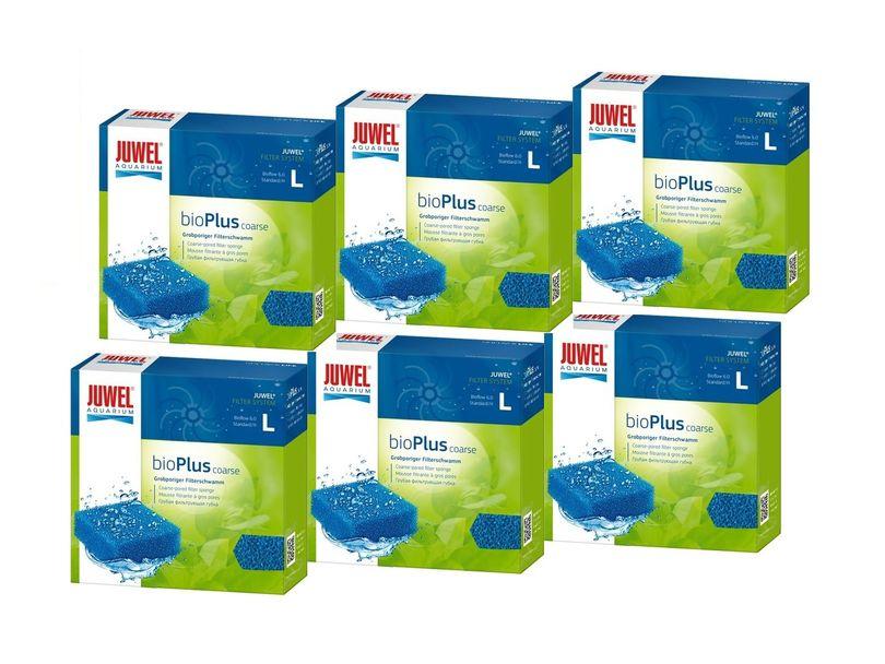 Juwel bioPlus coarse L 6er Pack Filterschwamm grob mechanische biologische Filterung