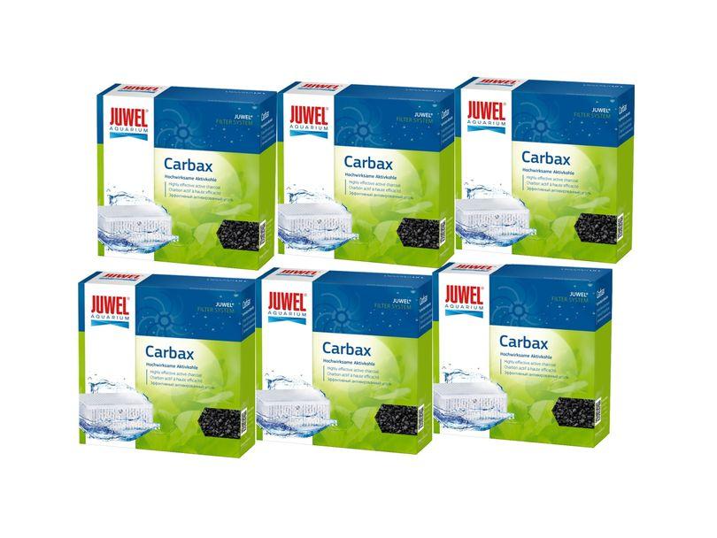 Juwel Carbax M 6er Pack Aktivkohle binden Verfärbungen Gerüche toxische Substanzen