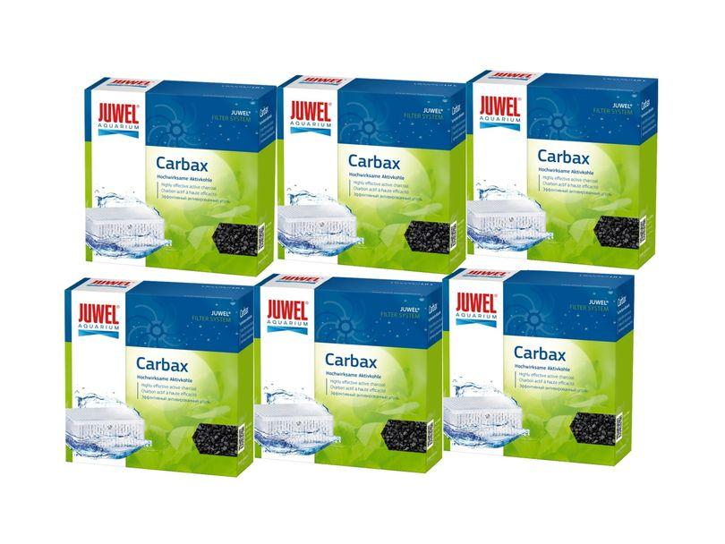 Juwel Carbax XL 6er Pack Aktivkohle binden Verfärbungen, Gerüche toxische Substanzen