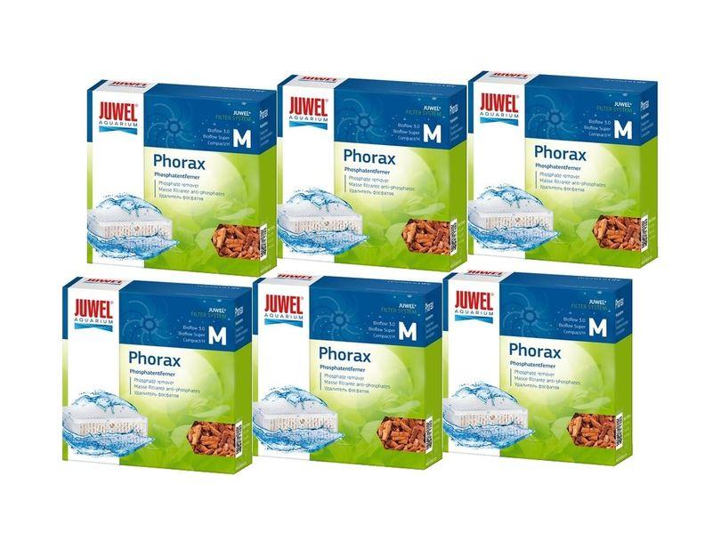 Juwel Phorax M 6er Pack Abbau Phosphate reduz. Algenwachstum besseres Pflanzenwachstum