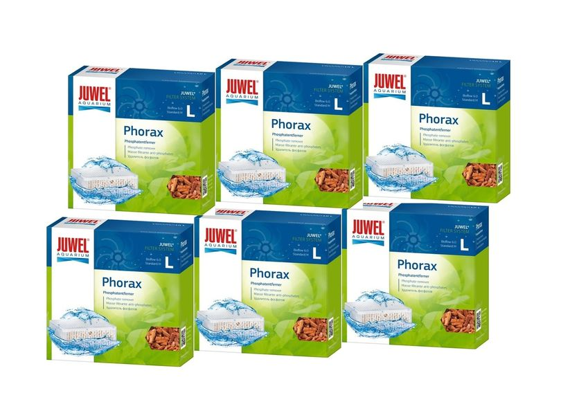 Juwel Phorax L 6er Pack Abbau Phosphate reduz. Algenwachstum besseres Pflanzenwachstum