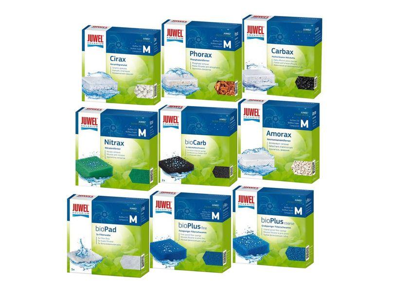 Juwel Filtermedien 9er Set Größe M Filterwatte Filterschwamm Vorfilter