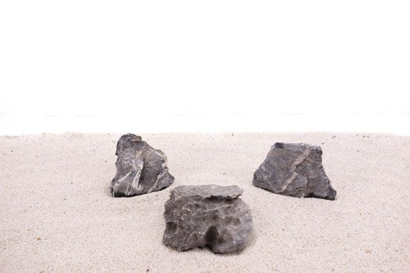 Aquarium graue Dekosteine Seiryu Art.67 Größe M 12-18cm Nr.1025