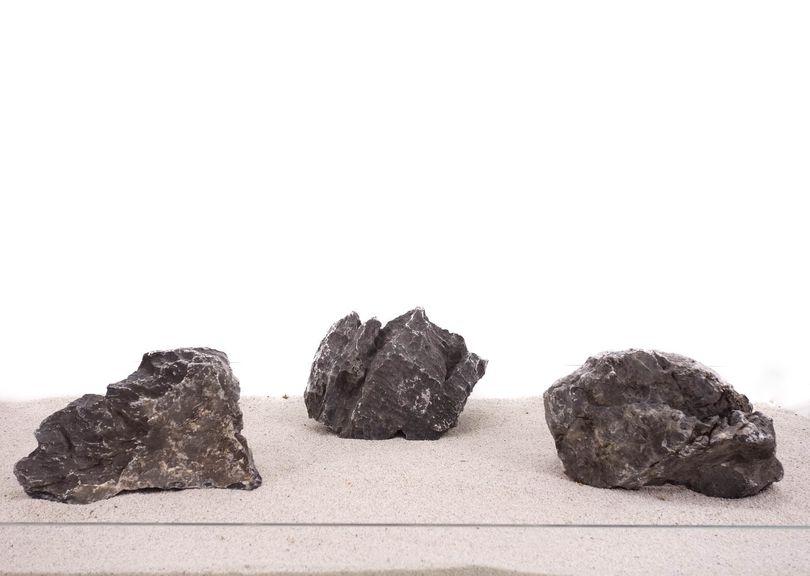 Aquarium graue Dekosteine Seiryu Art.69 Größe XL 12-18cm Nr.1113
