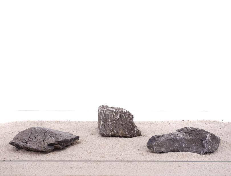 Aquarium graue Dekosteine Seiryu Art.69 Größe XL15-30 cm  Nr.1114