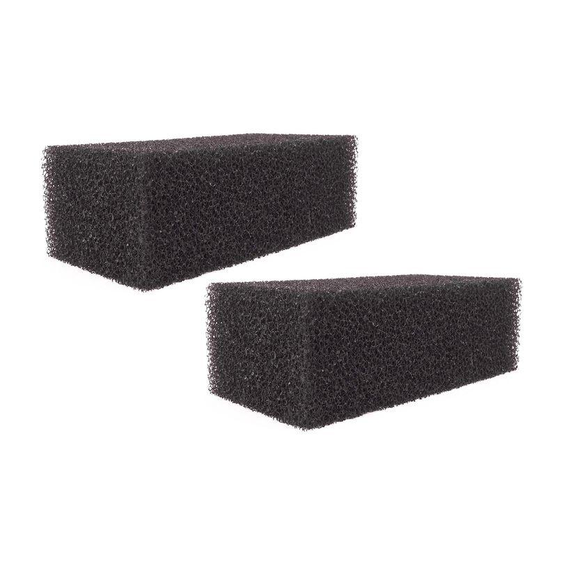Filterschwamm schwarz für Hang On Filter HBL-701 2 Stück
