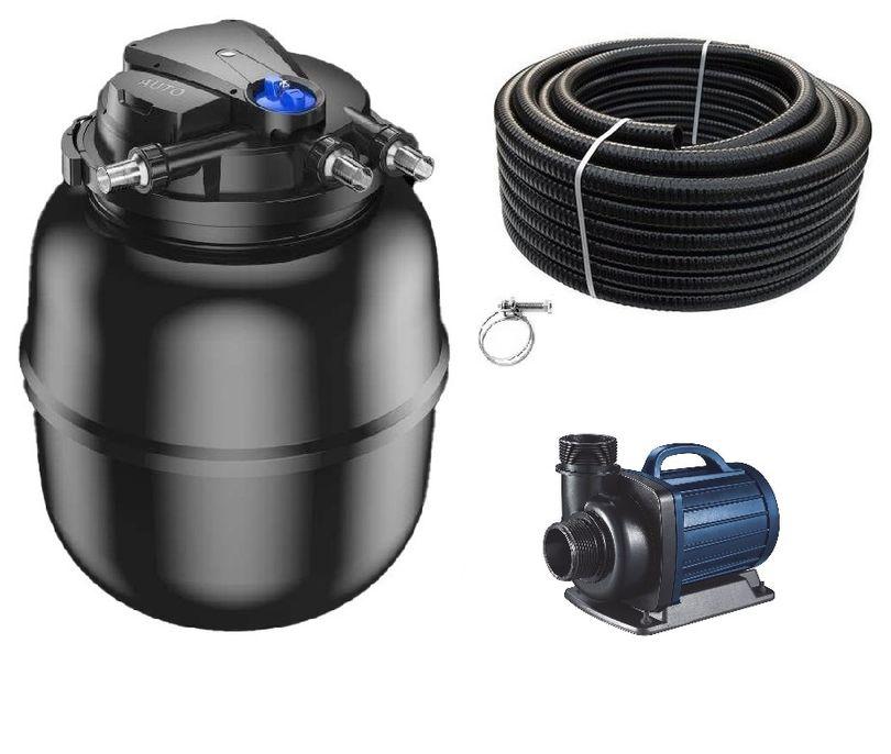 Schwimmteichfilter Set CPA 75000 12V Teichpumpe DM 12000 bis 100.000l Nr.70