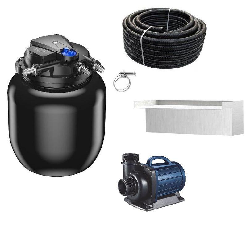 Schwimmteichfilter Set CPA 50000 12V Teichpumpe DM 12000 bis 80.000l Nr.69w