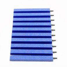 10 blaue Luftausströmer Stäbe in 15 cm Länge Luftstein Sauerstoffstein Sprudler Bild 1
