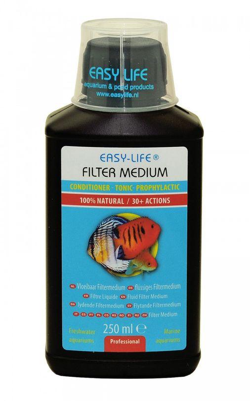 Easy Life 250ml flüssiges Filtermedium Wasseraufbereiter für Süß-, & Meerwasser