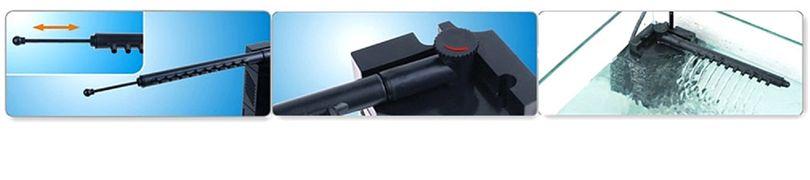 JP-092 Aquarium Innenfilter 250 L/h Filter Filtersystem Förderpumpe Bild 4