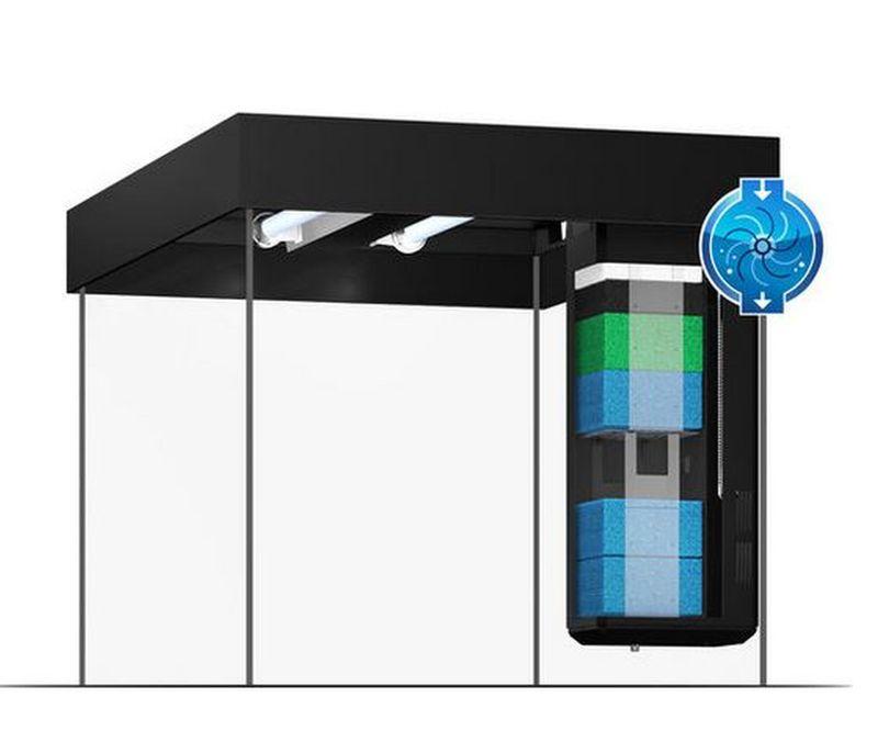 Juwel Aquarium Lido 200 Komplettaquarium +Heizstab +Innenfilter +LED Bild 8