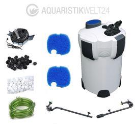 Aquaristikwelt24 Aquarium Außenfilter HW-303B 1400 L/h 3 Stufen 700l UVC  Bild 1