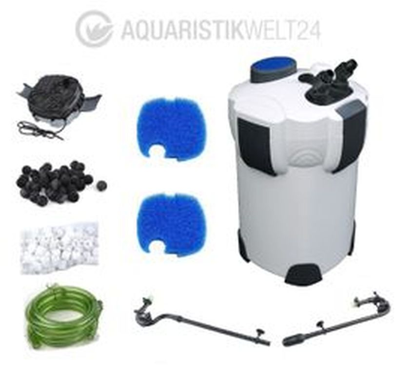 Aquarium Außenfilter HW-302 1000 L/h bis 400l Becken Bild 2