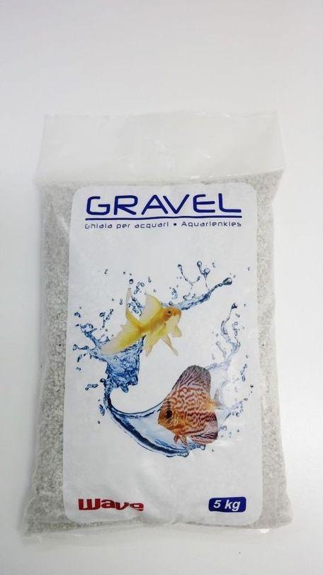 "5 Kg hellen Quarzkies mittel ""Premium Qualität"" 1-3 mm Bodengrund Aquarium Kies Bild 2"