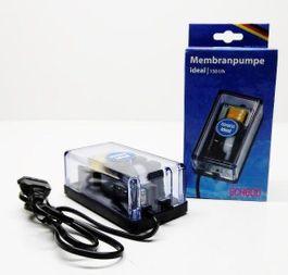 Schego ideal Membranpumpe 150 l/h Durchlüfter Luftpumpe Aquarium Pumpe  Bild 1