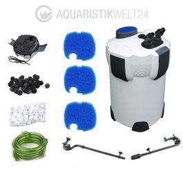 Aquarium Außenfilter HW-304A Filter 2000 L/h 1000l Bild 2