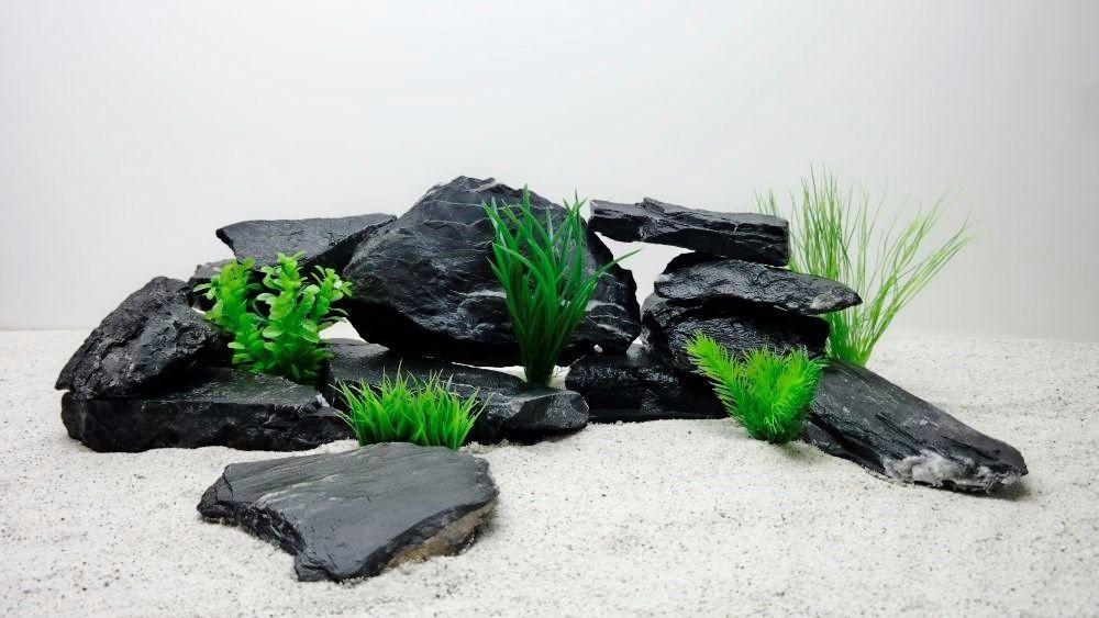 20kg originale aquarium dekoration natursteine steine in weiß, Modern Dekoo