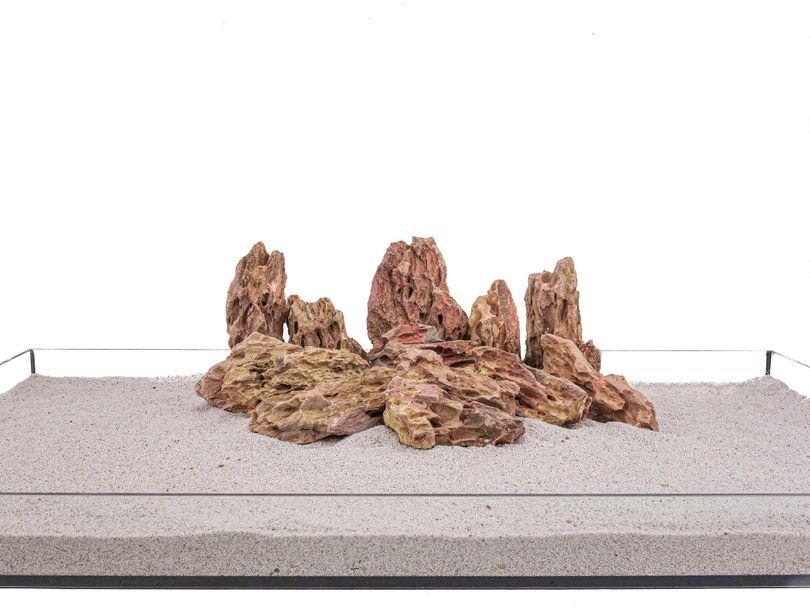 Aquarium Natursteine Drachenstein Deko Felsen braun 1 Stück Gr.M 300-700g Nr.62 Bild 2