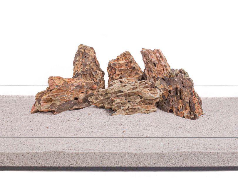 Aquarium Natursteine Drachenstein braun 20 Kg Gr.L 1-2 Kg Nr.63