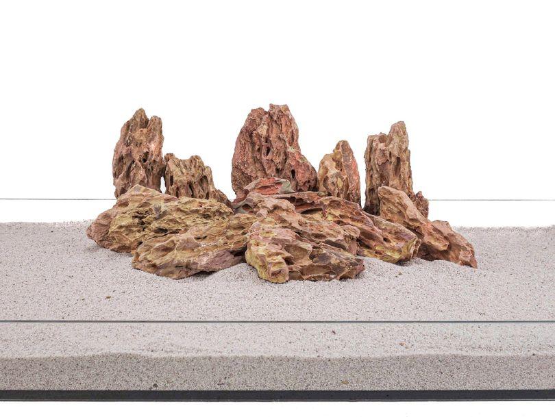 Aquarium Natursteine Drachenstein braun 20 Kg Gr.M 300-700 g Nr.62