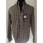 Long Sleeve Shirt - Ben Sherman - black/ yellow 001