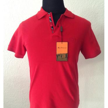 Poloshirt - Ben Sherman - red - monochrome
