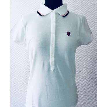 Girlie - Polo - Ben Sherman - weiß