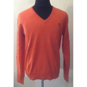 Knitted Pullover - Ben Sherman - orange
