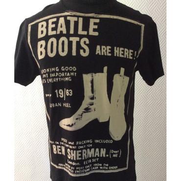 T-Shirt - Ben Sherman - Stiefel - schwarz