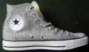 Converse Chuck High- 102936 Court grey black